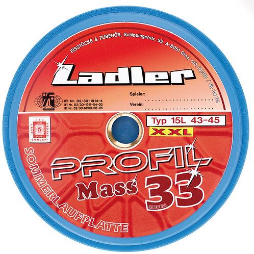 LADLER Profilplatte Modell 33 Mass XXL