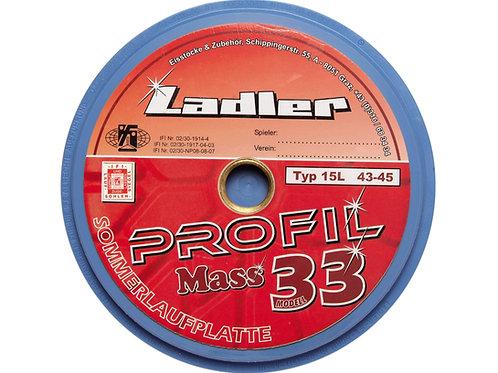 LADLER Profilplatte Modell 33 - Mass
