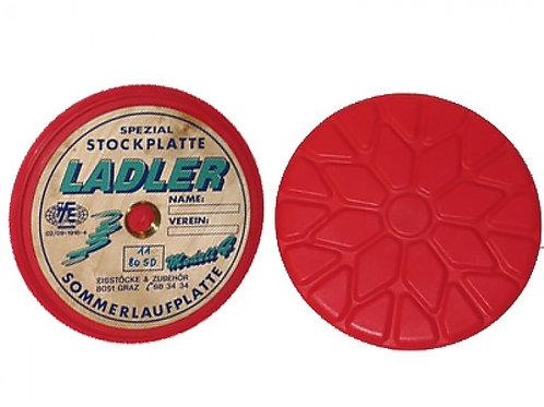 LADLER Rote Profilplatte (11-80 SD) mit IFI-Prüfsigel