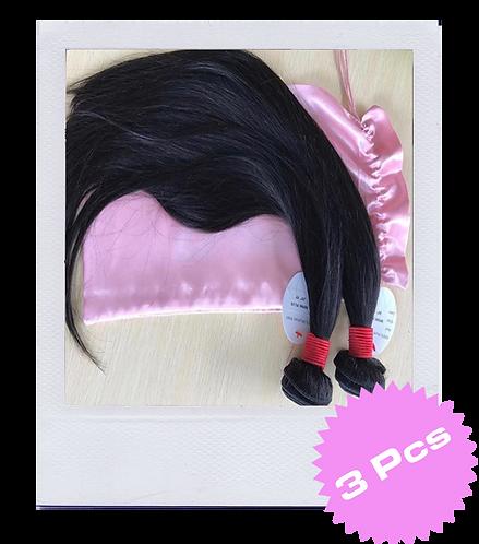 Mink Brazilian Straight Hair (3 Pcs)