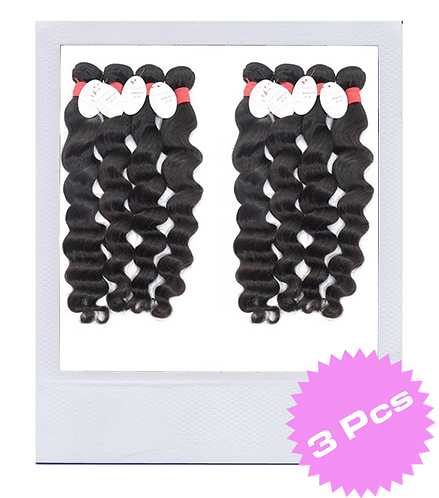 Mink Brazilian Deep Wave (3 Pcs)
