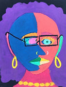 Self Portrait Project for Kids, Elementary Art, Free Art Projects for Students, Homeschool art, Free Online Art Classes for Kids, Pablo Picasso Elementary Lesson, Art Lesson Pablo Picasso, Pablco Picasso for Kids, Easy Self Portrait Drawing for Kids, How to Draw a Self Portrait for Kids, Cubism for Kids