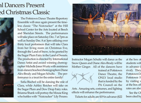 "Pottstown Dance Theatre's 2019 Production of ""The Nutcracker"" Featured"