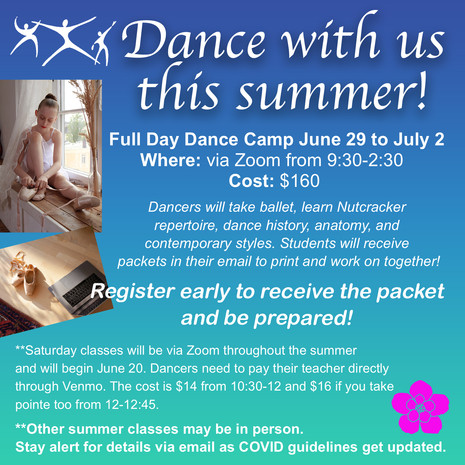 Dance With Us This Summer!