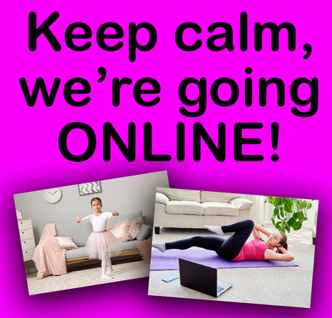 Classes are Moving Online as of Friday, March 27th