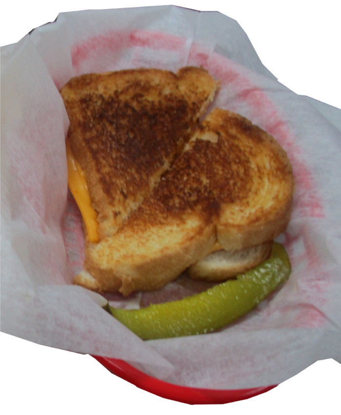 Grilled Cheese - $4.50