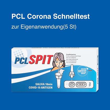 PCL Corona Schnelltest zur Eigenanwendung(5 St)