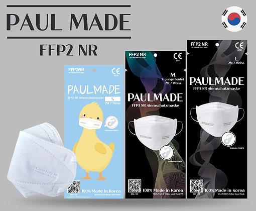 PaulMade FFP2 6 Stück L,M,S Size