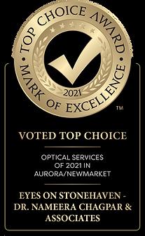 Top Choice Award 2021