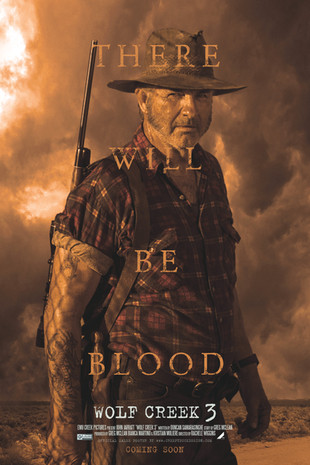 WOLF CREEK 3  (Official Sales Poster)