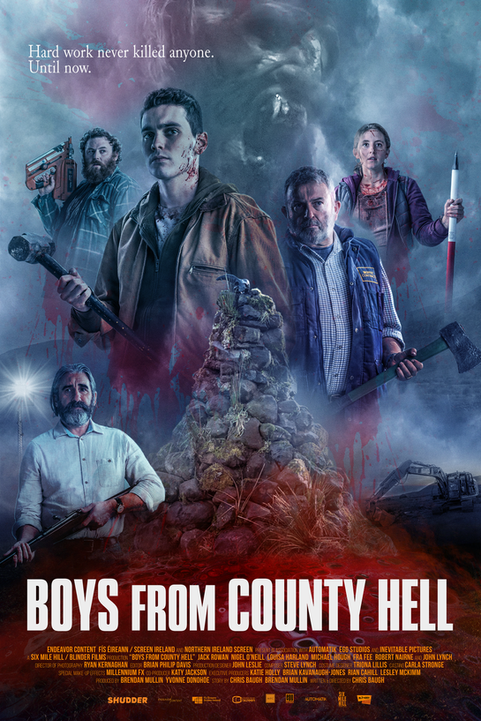 BOYS FROM COUNTY HELL (Official Poster)