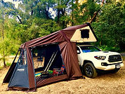 iKamper Skycamp rooftop tent annex room acessory overland camping expediton