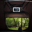 iKamper Skycamp rooftop tent tablt movie pouch rainy day