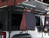 iKamper Skycamp rooftop tent shoe bag storage overland camping