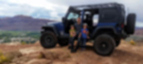 family outdoors adventur jeep moab