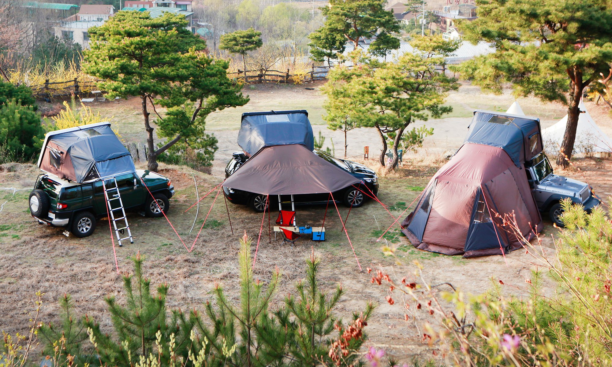 skycamp rooftop tent annex awning