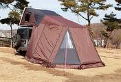 iKamper Skycamp rooftop tent overland annexroom camping room