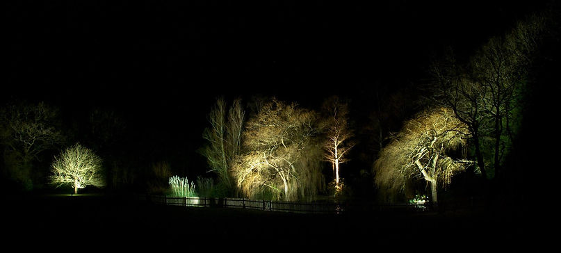 Garden Lighting Surrey Sussex London