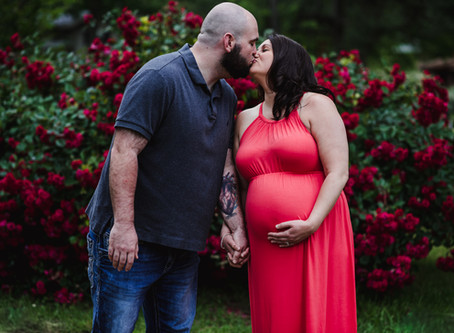A Sister for Brandon: A Little Rock Rainbow Baby Maternity Session