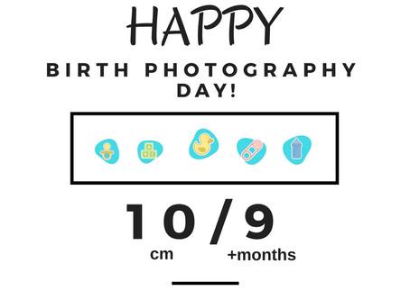 Happy Birth Photography Day!