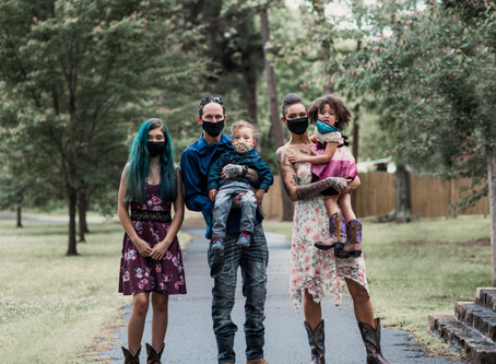 Keeping Up With My Babies: A Family Portrait Session