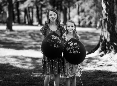 It's A Brother! Little Rock, Arkansas Gender Reveal Portrait Session