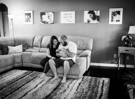 Hand Picked By Her Brother in Heaven: Brianna's Newborn Session