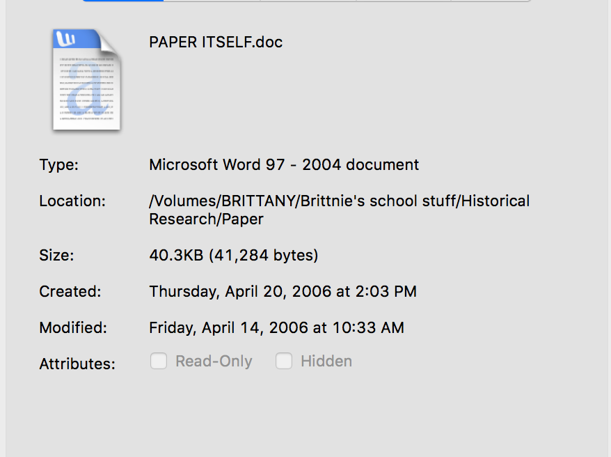That's an old paper, folks.