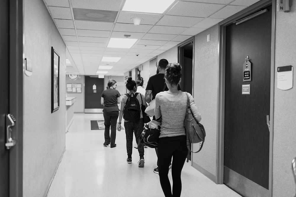 Baptist Hospital Labor and Delivery Hallway