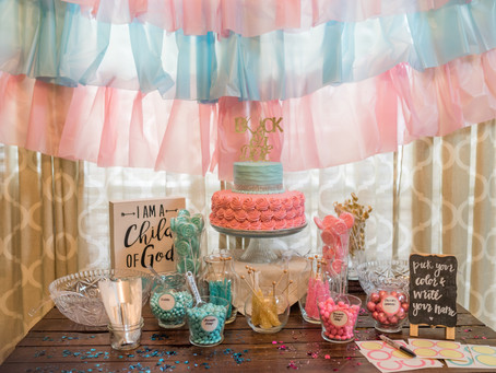Beautiful Gender Reveal Party