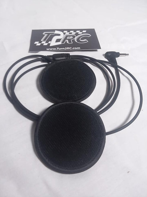 SLIM LINE HELMET SPEAKERS