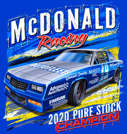 mcdonald racing logo