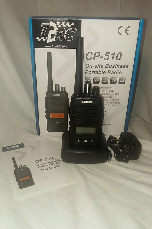T2RC CP510 4 WATT 200 CHAN W/ DIGITAL DISPLAY AND FM RECEIVER