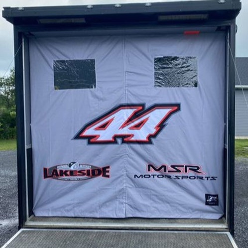 T2RC Rear Door Trailer Curtain