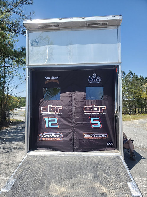 T2RC Trailer Curtains for Stacker Trailer