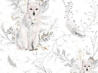 56 - Renard polaire assis