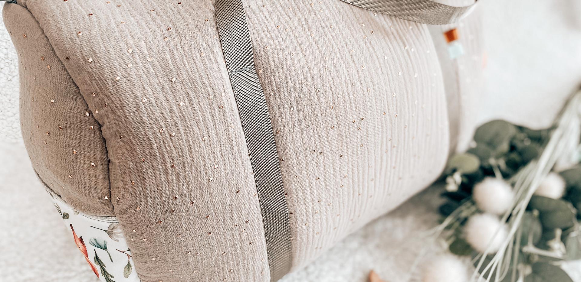 Chihiro simple gaze de coton lin