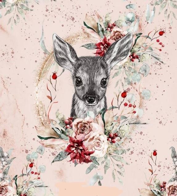 tête de biche et fleurs rouges.jpg