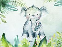 Elephant aloha