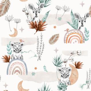 1 - Jo le lionceau & Adèle la Gazelle / Boho Spirit