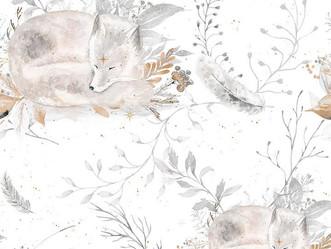 35 - renards polaires endormis