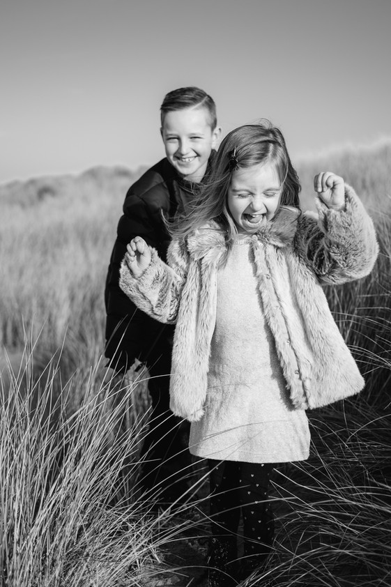 Liverpool family photography Formby Beach
