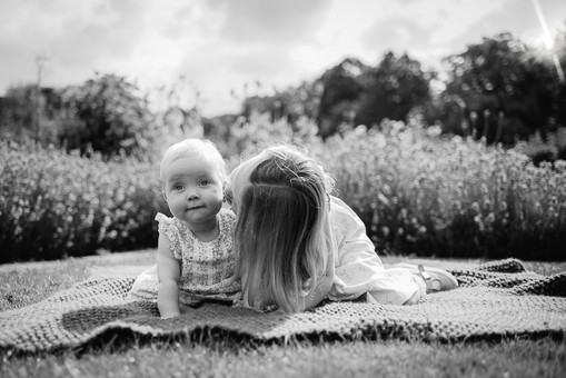 Liverpool family photography Croxteth Park