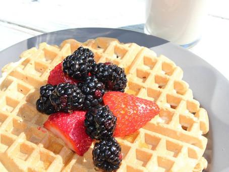 Healthy Waffles 3 Ways