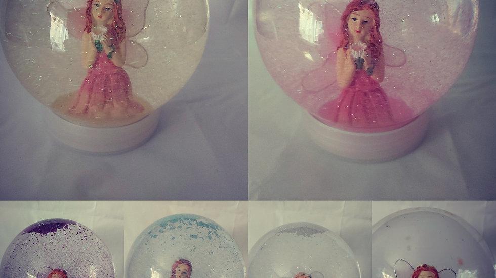 Fairy glitter globe