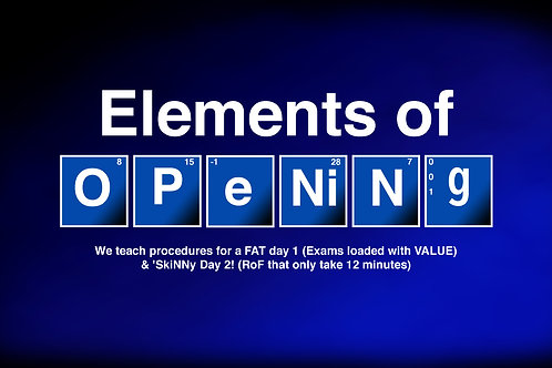 October 31- November 1 in Australia - Virtual Elements of Opening