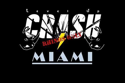CRASH Miami - January 15-16, 2021 DC SEAT