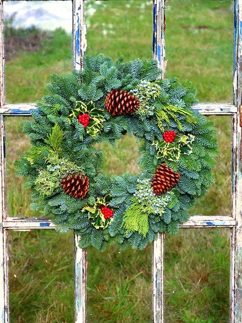 Deluxe Noble Fir Wreath