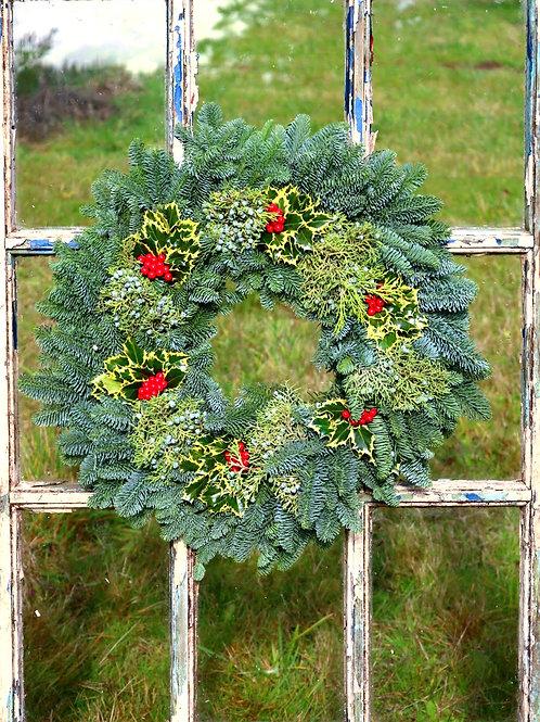 Holly & Juniper Noble Fir Wreath
