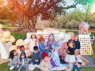 Face Painting party with Fairy Lavender